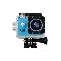 12 MP Photo Resolution 12 MP Image Sensor Action Camera with 1.5 inch LCD Monitor - Blue