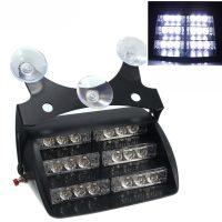 18 LED Flash Strobe Car Light - White