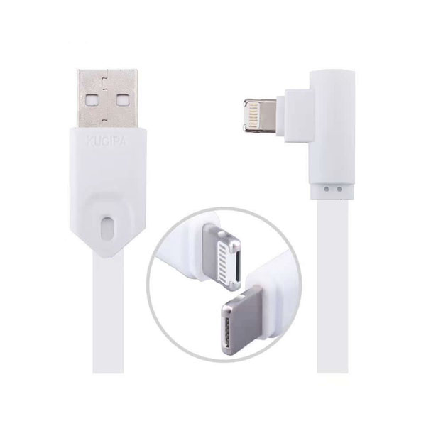 100 CM Multifunction Micro USB Lightning USB Charger Data Sync Cable - White