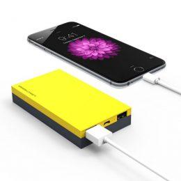 PARKMAN H3 15000mAh Dual Color Pocket Power Bank - Yellow