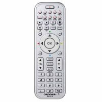 14 in 1 Universal TV DVD Media Smart Remote Control- Silver