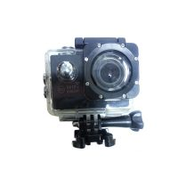 14MP Photo Resolution 12MP Image Sensor WIFI Action Camera with 2 Inch LCD Monitor - Black