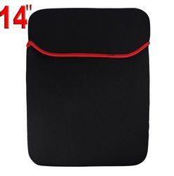 14 inch Tablet Laptop Netbook Soft Sleeve Case - Black