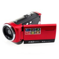 16MP HD Digital Camera Video Recorder - Red