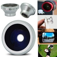 180 Degree Fish Eye Lens For Mobile Phone And Tablets