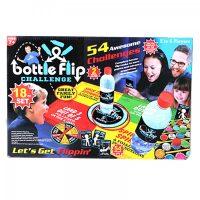 18 Piece Bottle Flip Challenge Set
