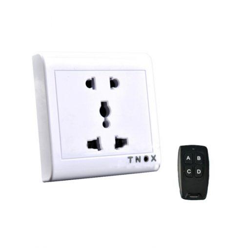 2.4G HD Wireless Remote Control Socket - White