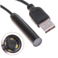 2 Meters Waterproof Mini USB Endoscope Camera - Black