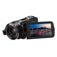 24MP 24X Zoom Full HD Video Camera With Night Shot - Black