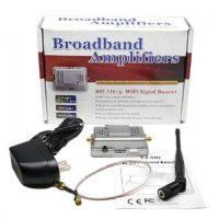 2 Watts Wifi Booster Amplifier Extender Signal Enhancer - Black