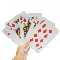 Giant Playing Cards 17 x 12 cm