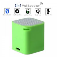 3 in 1 Smart Micro Bluetooth Speaker With Shutter And Anti Lost Function - Green