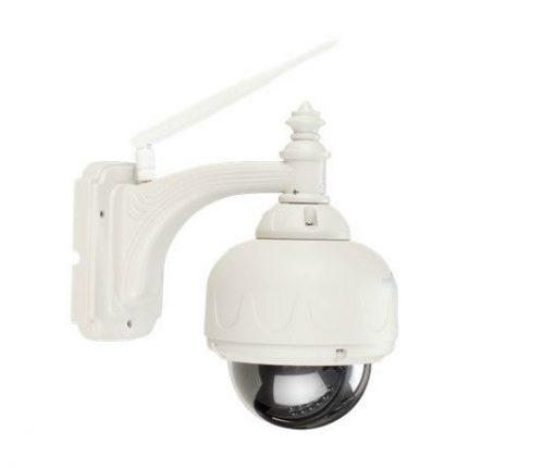 3X Optical Zoom HD Plug And Play Wifi IR Dome IP Camera - White