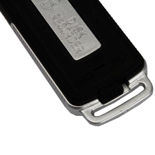 4GB USB Digital Voice Recorder - Black