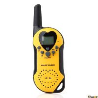 5KM Two-Way Radio Walkie Talkie Set - Yellow /Black