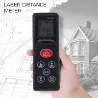 60 Meters Portable Laser Distance Meter - Black