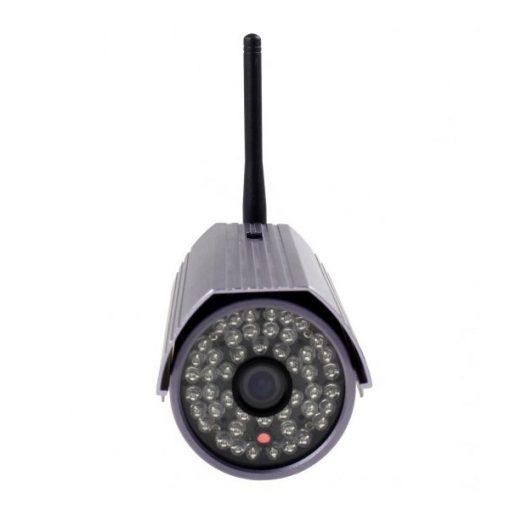 720P H.264 Waterproof Wireless IP Camera with Wifi - Purple