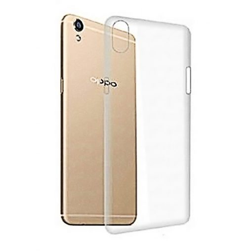 Protective Cover Back Shell for Oppo A37 - Transparent