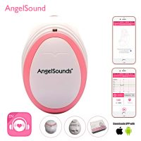Angelsounds Fetal Doppler With Phone APP Monitoring - Pink