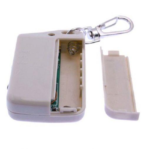 Anti Lost  Keychain Alarm Reminder Security - White