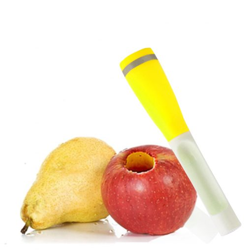 Apple And Pear Core Remover - Yellow