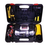 150 PSI  Air Compressor With Tool Set - Black