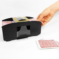 Automatic Card Shuffler - Black