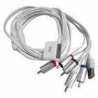 1.8M AV / AV Component Cable for Apple iPad / iPhone / iPod Series