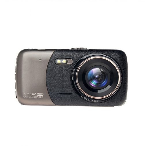 LGB50 Dual Camera  1080P Car CCTV Dashcam - Black