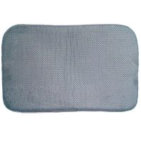 Bathroom Soft Foam Mat - Light Gray
