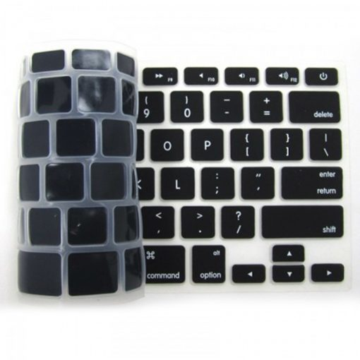 Crystal Guard Silicone Keypad Cover For MacBook Air-11.6 – Black