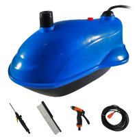 Portable Submersible Pressurized Water Pump Car Washer - Blue