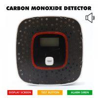 Carbon Monoxide Detector Alarm Box - Black