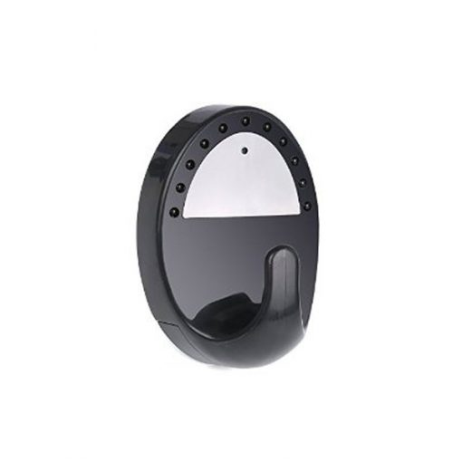 Clothes Hook With HD Camera And IR Night Vision - Black