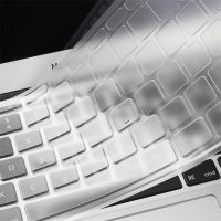 """Crystal Guard Soft Silicone Keyboard Case Cover for Apple Macbook Air 13"""" - Transparent"""