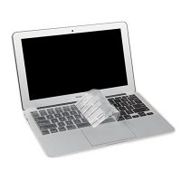 """Crystal Guard Soft Silicone Keyboard Case Cover for Apple Macbook Air 11"""" - Transparent"""