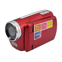 1.8 Inch LCD Cyber-cam Mini Dv Camcorder 12mp 4x Zoom - Red