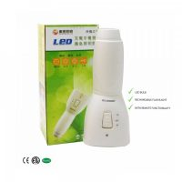 Multifunction Rechargeable LED Bulb Convertible To Flashlight With Remote Controller - White