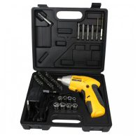 Dextra Portable Electric Drill - Yellow