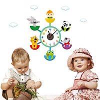 DIY Wall Art Sticker Wall Clock for Home Decor CD859 - White