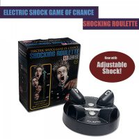 Electric Shock Game of Chance Shocking Roulette - Black