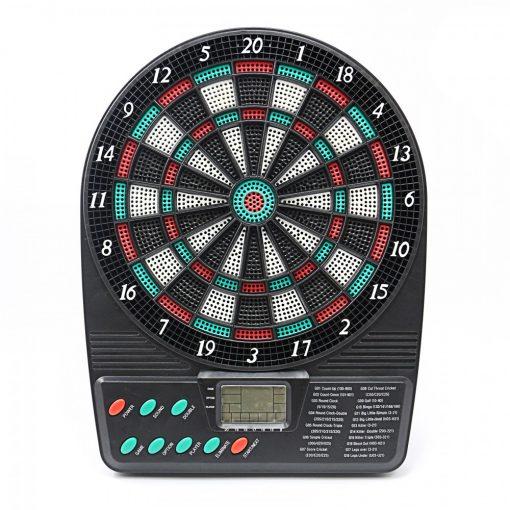 Luxury Electronic Dartboard - Black