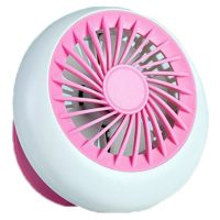 Rechargeable USB Mini Handheld Fan - Pink