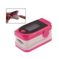 Fingertip Pulse Oximeter - Pink