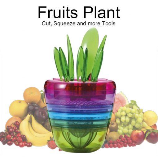 Creative Fruits Plant Salad Maker Tools - Multicolor