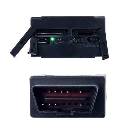 GSM GPS OBDII Interface Vehicle Tracker - Black
