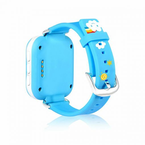 GPS Mini Wristband Phone Watch For Kids - Blue
