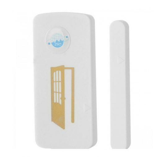 GSM Magnetic Door Sensor Alarm - White