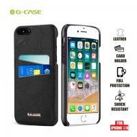Gcase Koco Series Protective Shell Case for iPhone 7 Plus and 8 Plus - Black