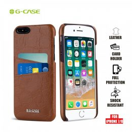 Gcase Koco Series Protective Shell Case for iPhone 7 and 8 - Brown